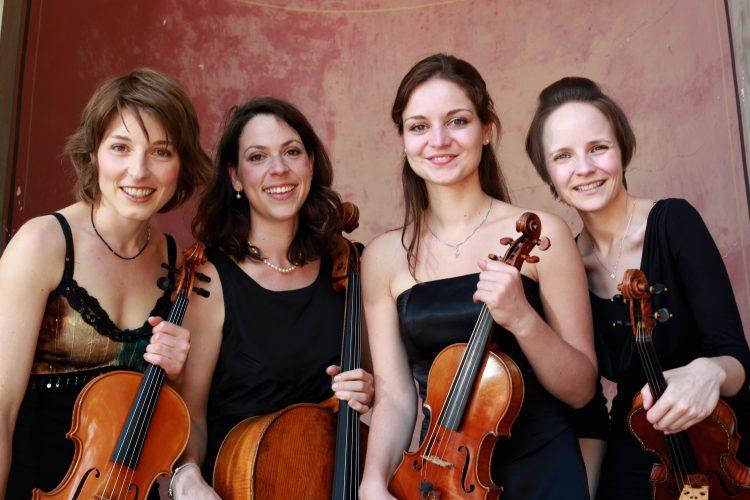Amalien Quartett mit Friedemann Wuttke