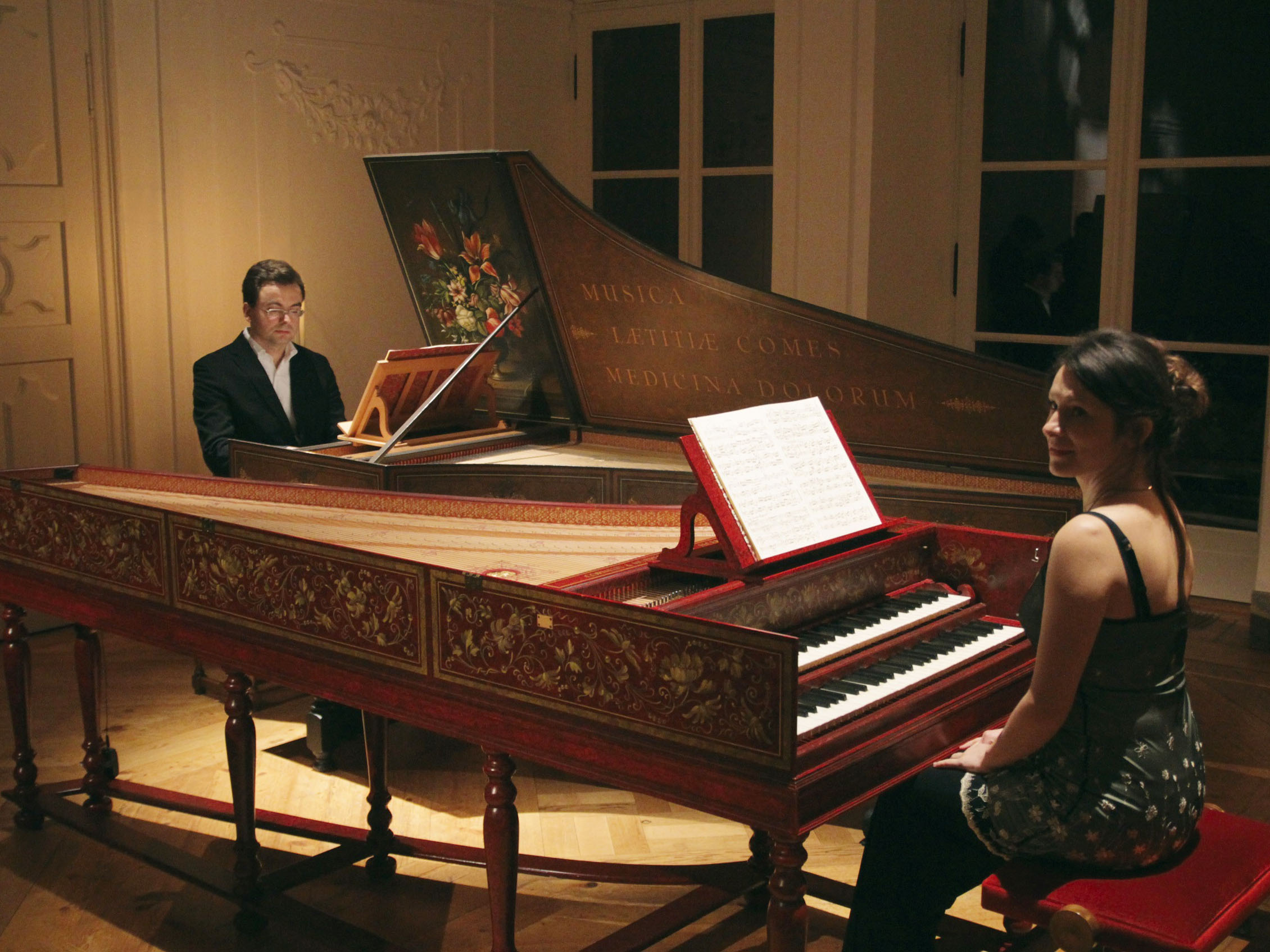 Aleksandra und Alexander Grychtolik – Cembalo Duo