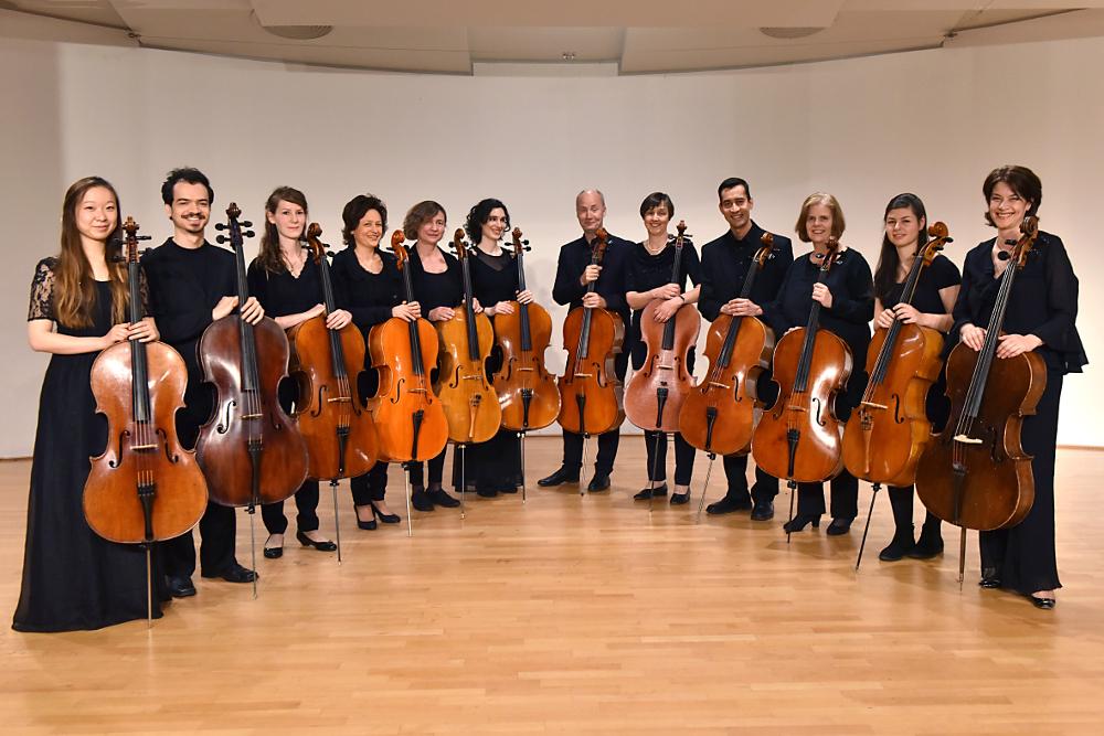 Kammerkonzert mit den 12 Hellweger Cellisten