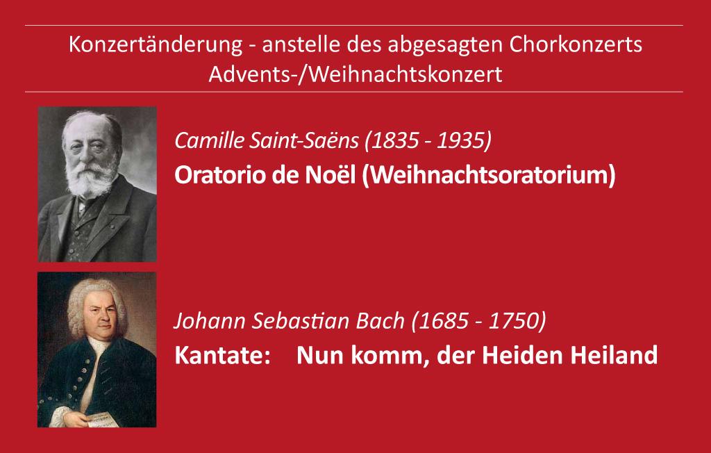 Weihnachtskonzert der Konzertgesellschaft Schwerte