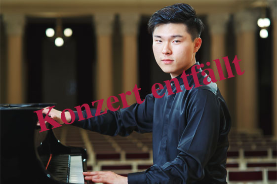 Junhee Kim – das Konzert entfällt