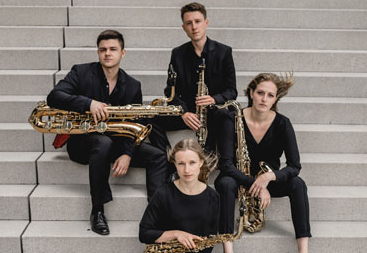 Das Multiphonic Quartett  – Saxophonquartett
